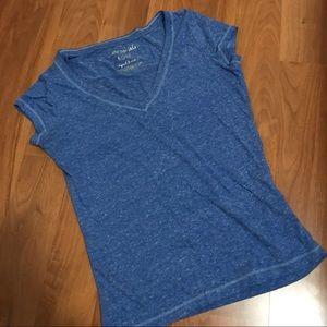 Heathered Cobalt Blue Shirt